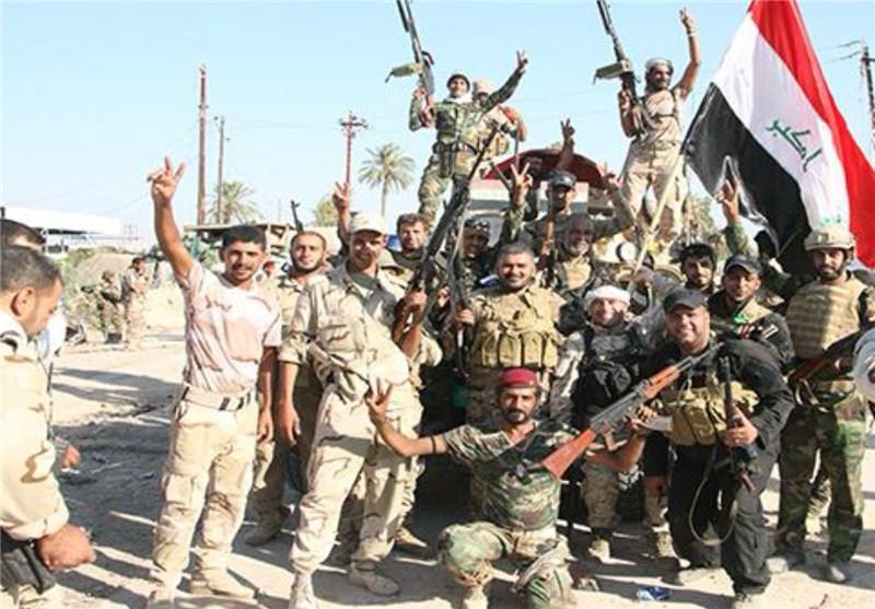 """تسلط ارتش عراق بر منطقه """"الحوز"""" در مرکز الرمادی"""