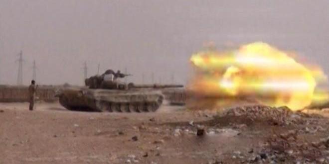 """یگان های ارتش  سوریه مقرات گروه های تروریستی """" داعش """" و """" النصره """" در درعا را هدف قرار دادند و تلفات سنگینی را به آنها وارد کردند"""