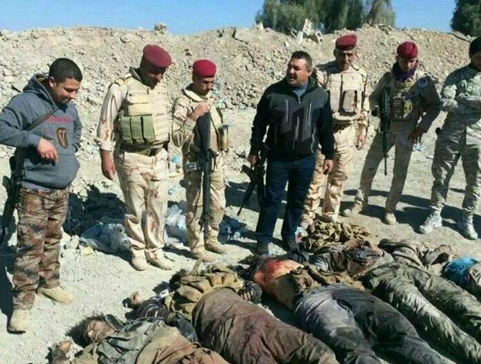 کمر داعش در الرمادی (عراق) شکست.