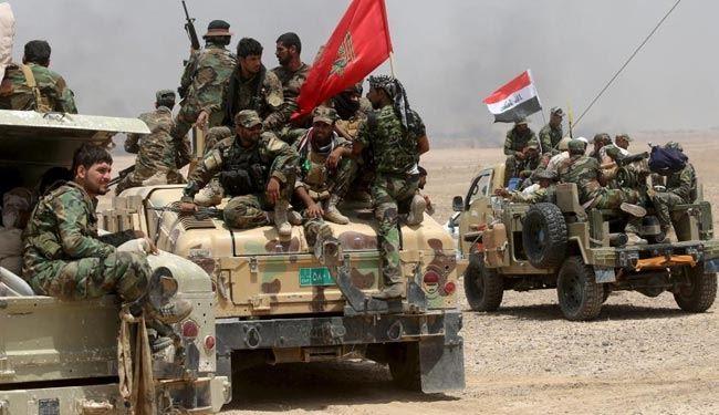 پیشروی ۲۰ کیلومتری نیروهای عراقی در اطراف شهر سامرا