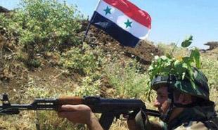 پیشروی نیروهای ارتش سوریه به سوی پایتخت داعش