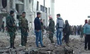 وقوع انفجار تروریستی در استان حماه سوریه