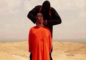 تک تیرانداز انگلیسی، سرِ جلاد داعشی را از تن جدا کرد!