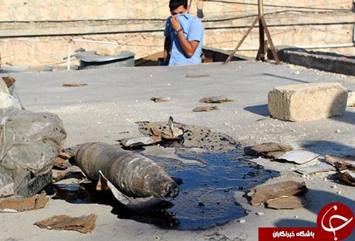 پیشمرگههای کُرد هدف حملات شیمیایی داعش+تصاویر