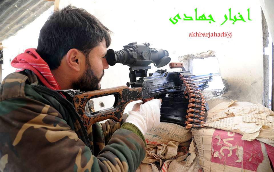 درگیری شدید ارتش سوریه و داعش درحمص