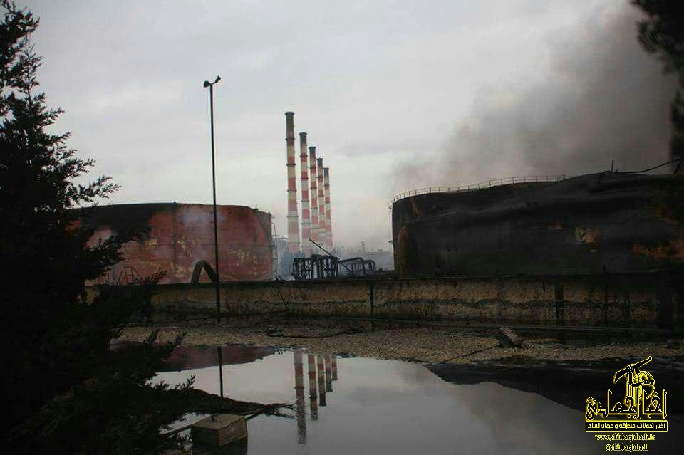 عکس –  نیروگاه حرارتی حلب