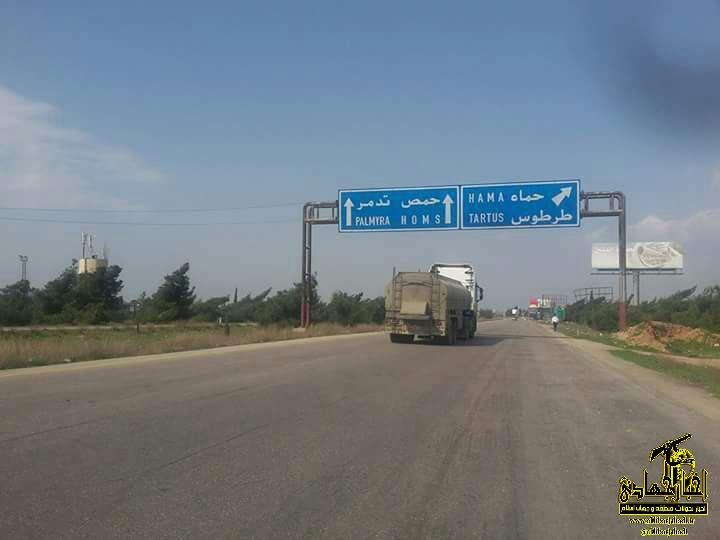 جاده  دمشق – لاذقیه امروز