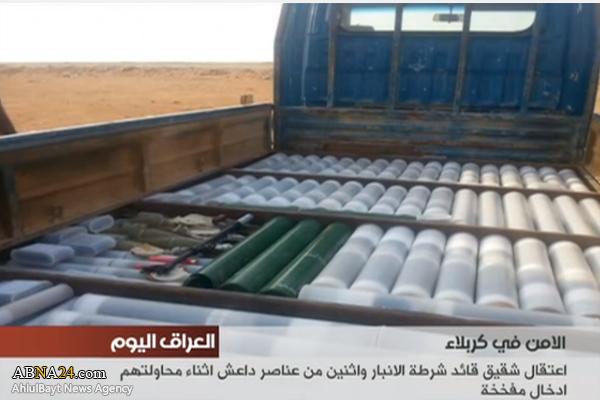 تلاش ناکام داعش برای بمبگذاری در کربلا +تصاویر