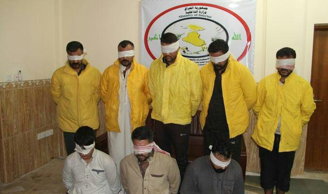 دستگیری عوامل بمب گذاری در شهر حله عراق
