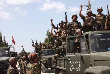ارتش سوریه منطقهای را در غوطه شرقی دمشق بازپس گرفتند