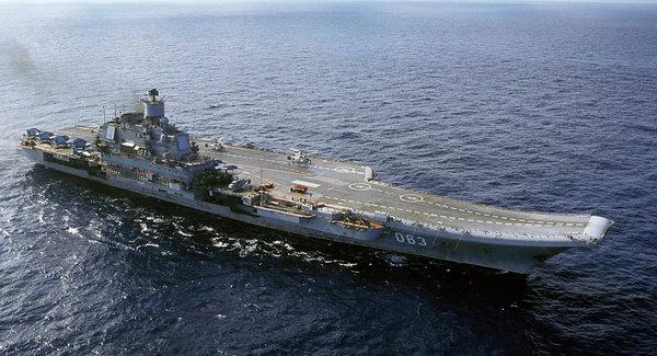 اعزام بزرگترین ناو هواپیمابر روسیه به سوریه