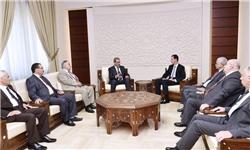 اسد: از جانفشانیهای ایران و حزب الله در جنگ سوریه سپاسگزاریم