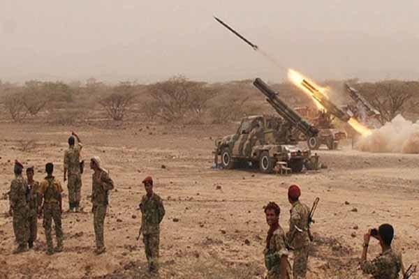 ۵۰ کشته و زخمی در شلیک موشک بالستیک به مواضع مزدوران سعودی در یمن