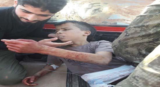 """""""کتیبه نورالدین الزنگی"""" احیاکننده حقوق بشر آمریکایی در سوریه+ تصاویر"""