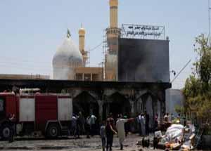 حفر خندق؛ راهکار بسیج مردمی عراق برای تامین امنیت حرم محمد بن هادی (ع)