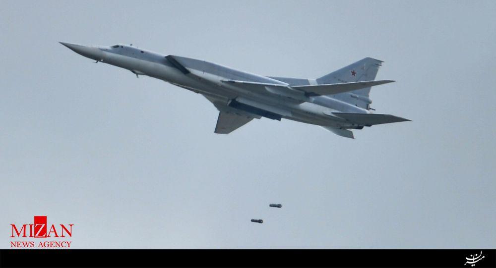 حمله گسترده بمب افکن های روسیه به پایگاههای داعش در سوریه
