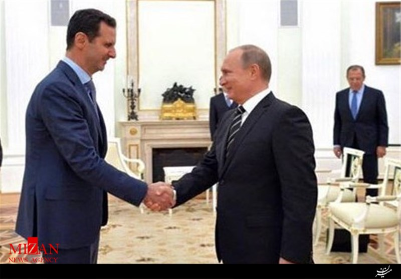 سفر محرمانه بشار اسد به روسیه برای گفت وگو با پوتین