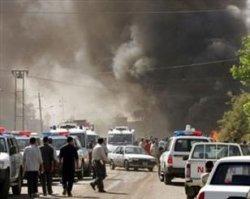 انفجار انتحاری در کاظمین عراق + فیلم