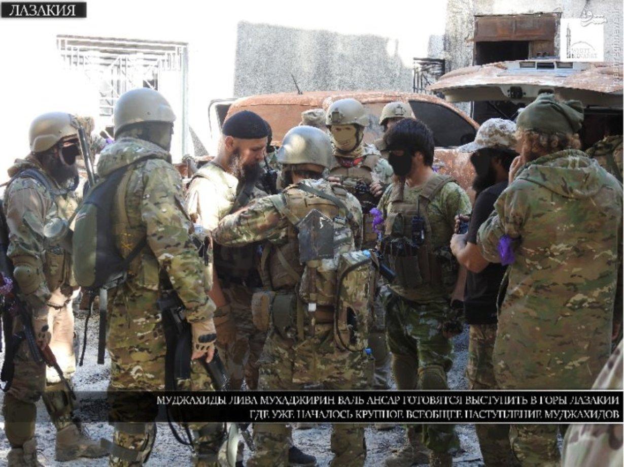 جولان تروریستهای ۷۲ ملت در شمال سوریه + تصاویر