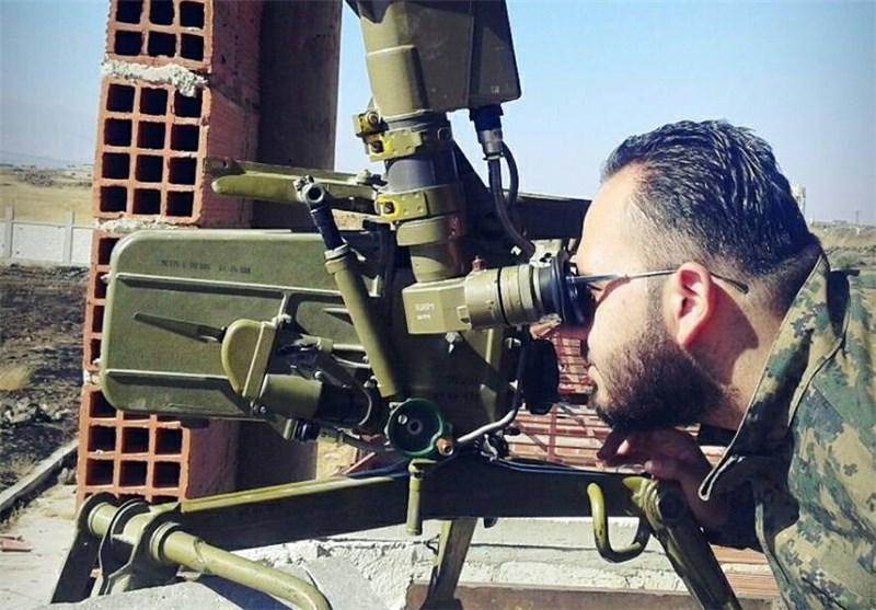راههای ارتباطی تروریستها در حومه قنیطره در تیررس ارتش سوریه +عکس