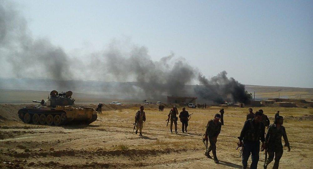 اسپوتنیک: تسلط نیروهای سوریه دموکرات بر شش روستا در جنوب منبج