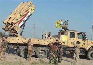 انهدام ستون خودروهای داعش/ پادگان آموزشی تروریستها در موصل متلاشی شد