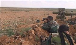حمله ارتش سوریه به کاروان داعش/ ۲۰ تروریست کشته شدند