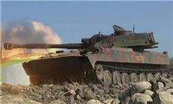 حمله ارتش سوریه به مواضع داعش در شرق و مرکز این کشور