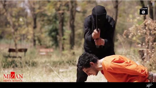 ویدئوی داعش از بریدن سر یک افسر روس در سوریه