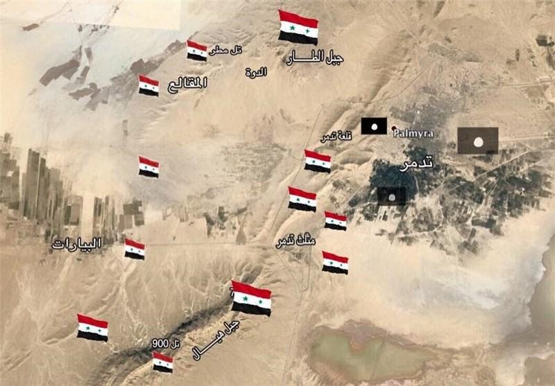 حملات انتحاری داعشیها به «تدمر»/کشته شدن ۳۰ سرباز ارتش سوریه و اسارت ۶ نفر