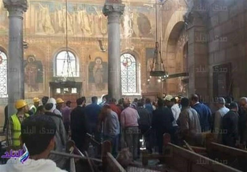 داعش مسئولیت انفجار کلیسای قاهره را بر عهده گرفت