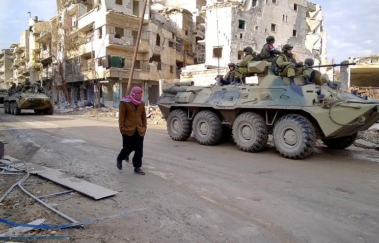 حلب از تله های انفجاری تروریست ها پاکسازی شد