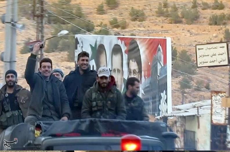 استقبال مردم سوریه از فاتحان «عینالفیجه»