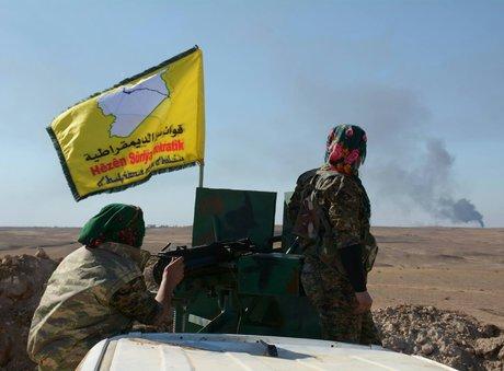 """نیروهای """"سوریه دموکرات"""" برای اولین بار وارد استان دیرالزور شدند"""