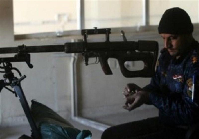 استقرار تکتیراندازان ارتش عراق در ساختمانهای موصل برای شکار داعشیها
