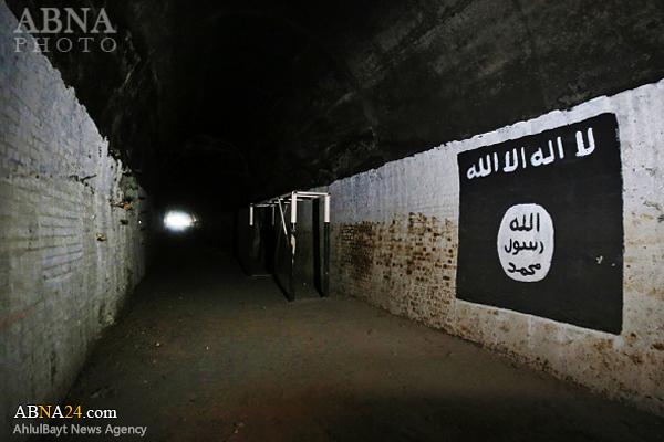 کشف مرکز آموزش زیرزمینی داعش در عمق ۱۰ متری + تصاویر