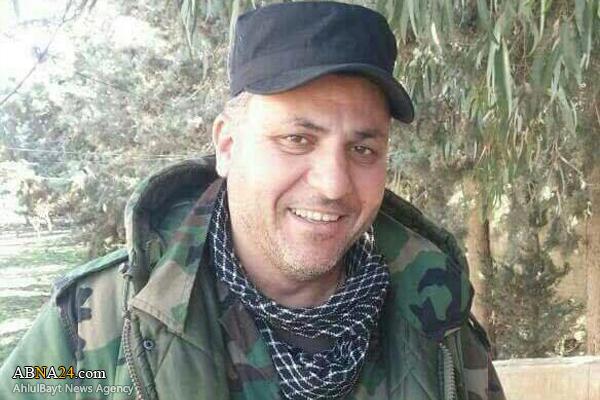شهادت یک فرمانده حزب الله لبنان در سوریه + عکس
