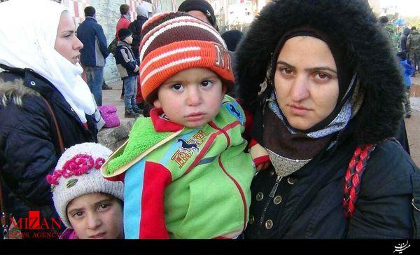 تخلیه ۴ شهر سوریه آغاز شد/خروج ۵ هزار نفر از فوعه و کفریا