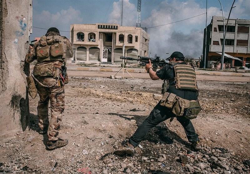 منطقه الصناعه الشمالیه در کرانه راست موصل آزاد شد/کشف  اسناد سری داعشیها در استان صلاحالدین