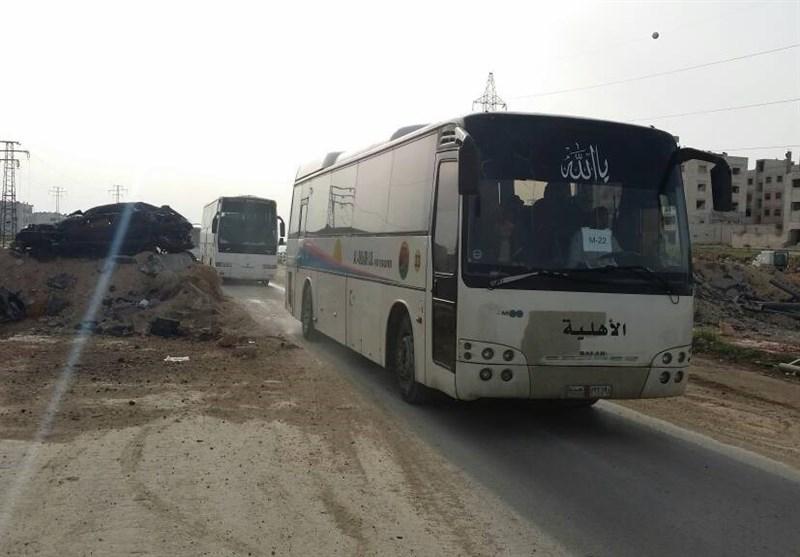 ورود تنها ۱۰ اتوبوس از مجموع ۴۶ اتوبوس به حلب پس از سه روز کارشکنی گروههای مسلح