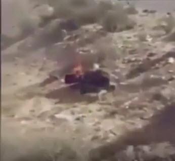 مردان قبیله مصری یک سرکرده داعش را زنده زنده آتش زدند + فیلم