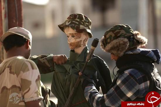 مانکنهایی برای فریب داعش! +تصاویر