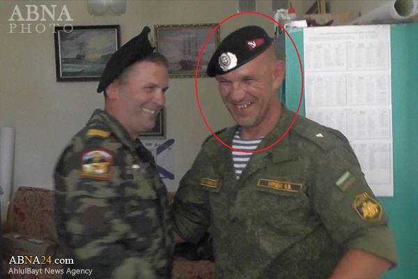 کشته شدن یک مستشار نظامی روسیه در سوریه + عکس