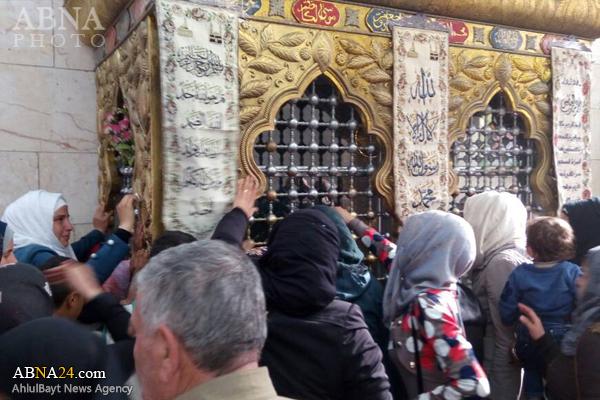 بازگشایی زیارتگاه معروف به مشهد الحسین(ع) حلب پس از ۵ سال + تصاویر