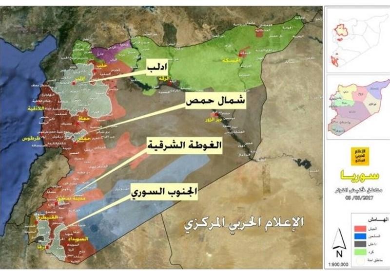 بررسی تحرکات نظامی در جنوب سوریه