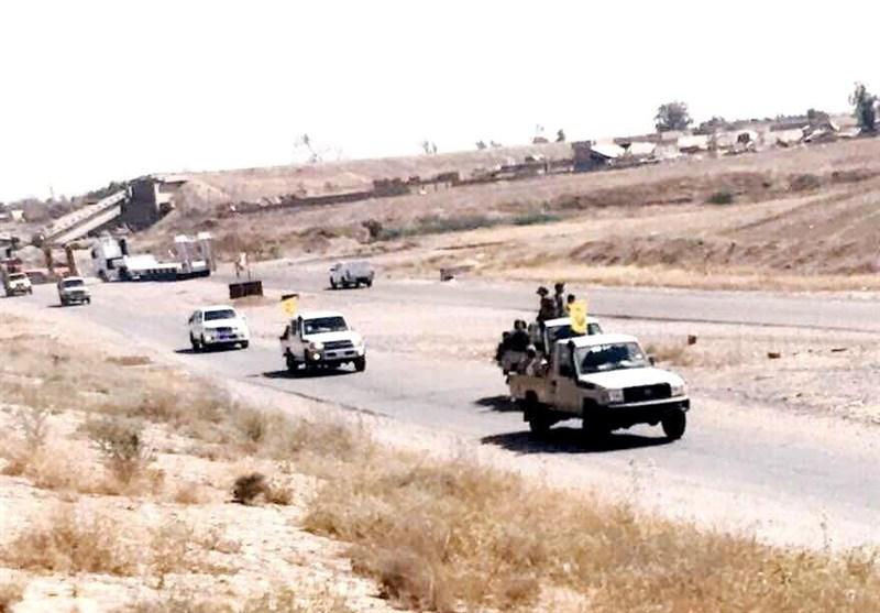اعزام نیروهای ویژه نُجَباء برای آزادی مناطق مرزی عراق با سوریه + تصاویر