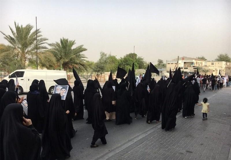 ادامه تظاهرات شهروندان بحرینی در حمایت از آیتالله عیسی قاسم + تصاویر