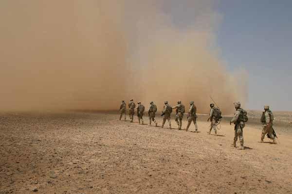 راز ماموریت محرمانه نظامیان آمریکایی در پایگاهی در جنوب لیبی