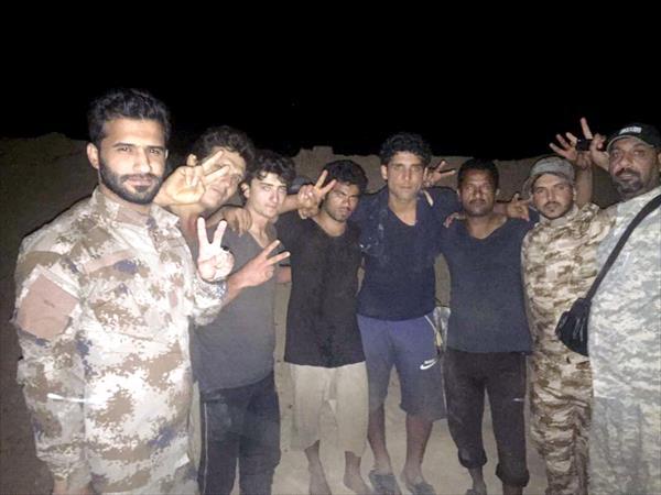 النجباء چهار رزمنده خود و دو سرباز سوری را از اسارت جبهه النصره در سوریه آزاد کرد+تصاویر