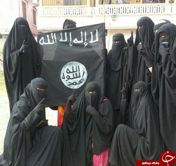زنان زالو صفت داعشی آخرین امید این گروه تروریستی+تصاویر